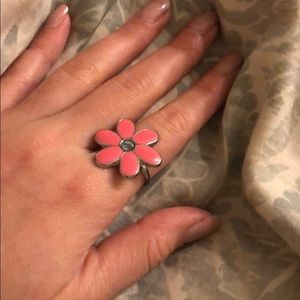 Marc Jacobs Pink Daisy Ring
